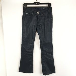 Miss Sixty 24 Stretch Wax Coated BootCut Jeans